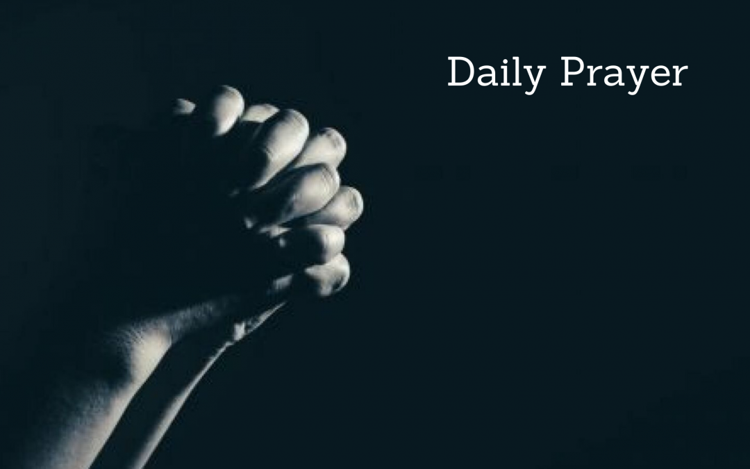 Daily Prayer for August 2, 2020