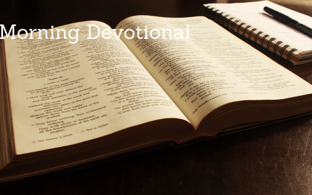 The Morning Devotional: Matthew 5:9