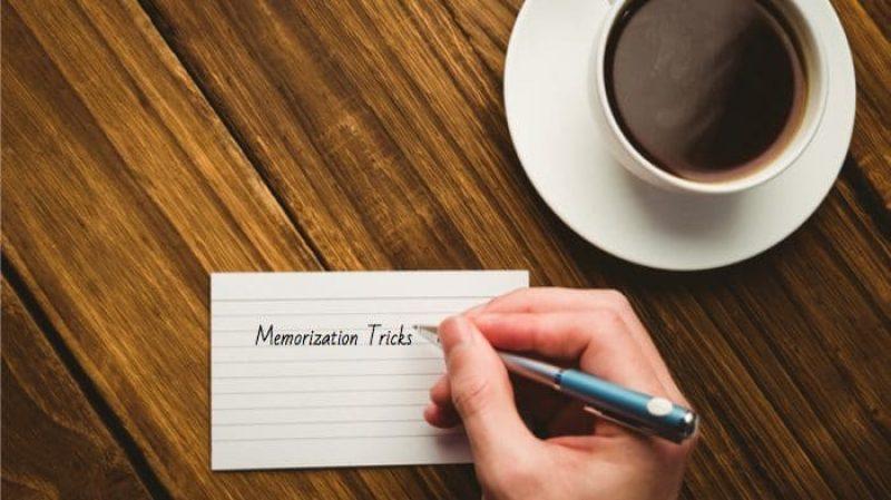 Memorization Tip